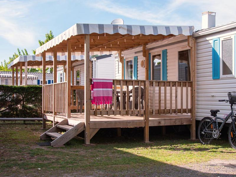 camping mobil-home terrasse