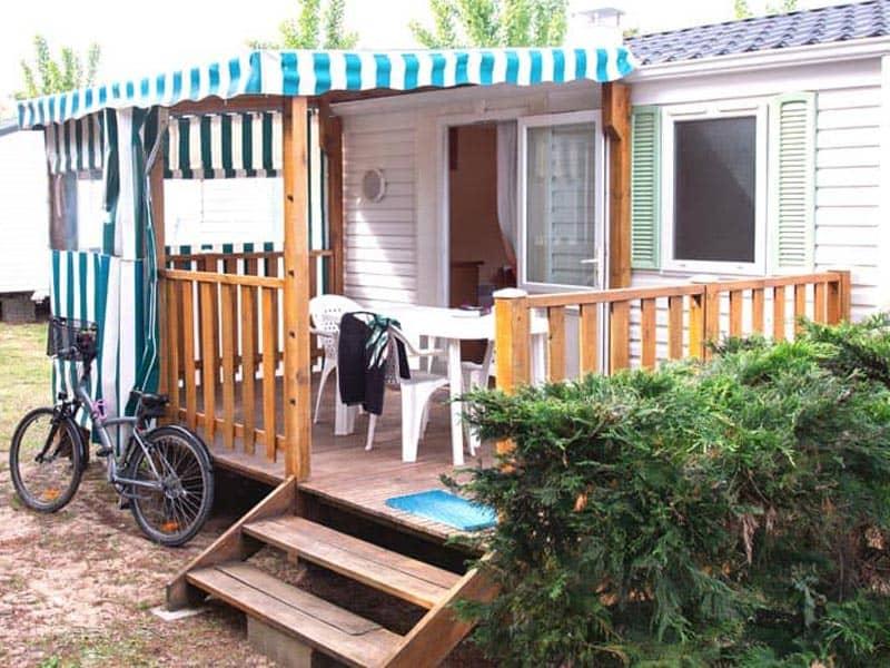 extérieur mobil-home camping