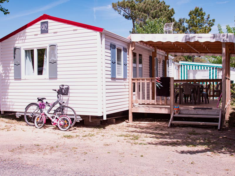 mobil-home 3 chambres 6 places terrasse