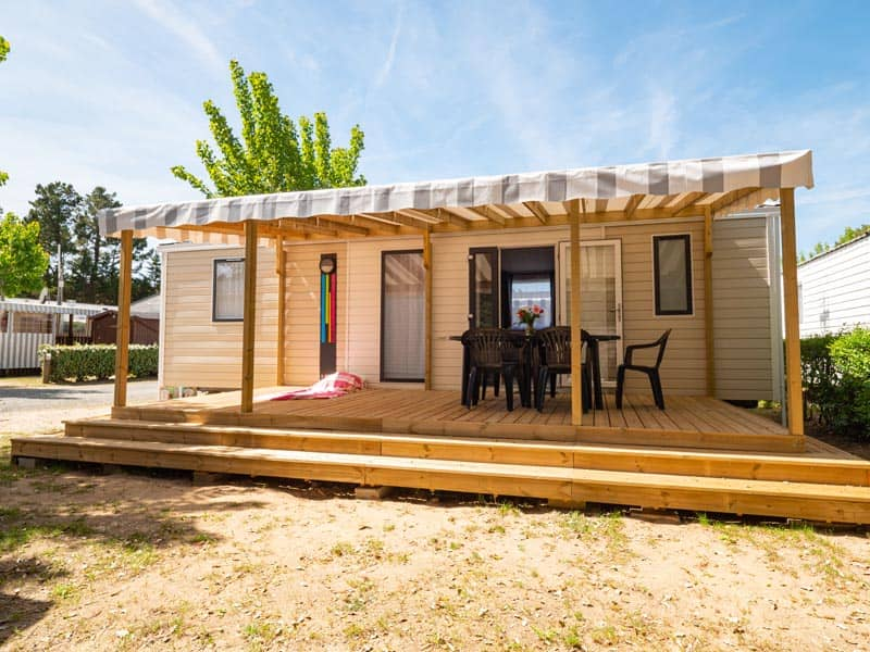 terrasse exterieur mobil-home camping
